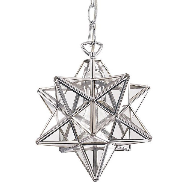 Подвесной светильник Stella Big из металла и стекла