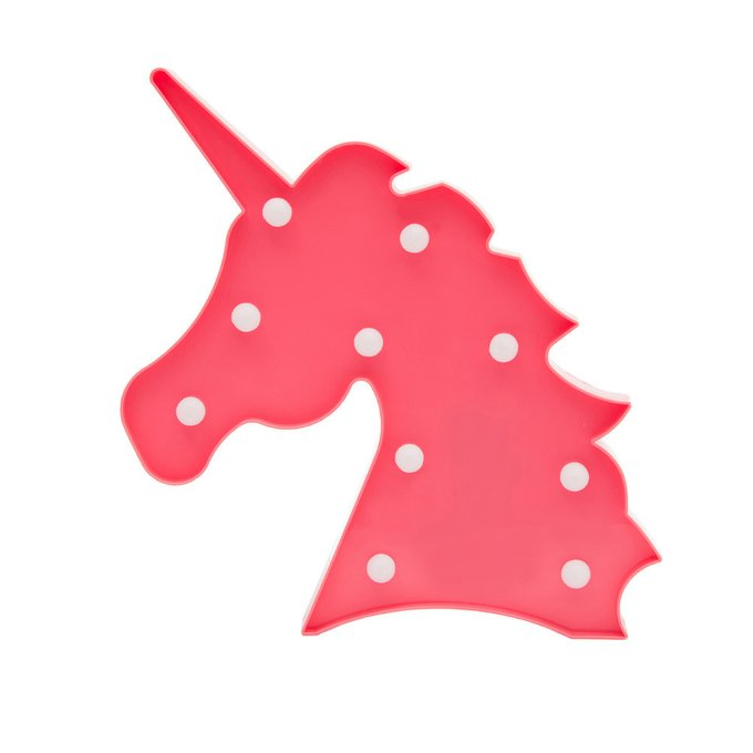 Детский ночник Розовый Единорог
