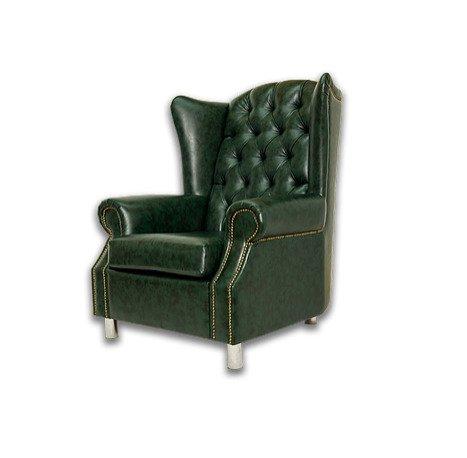 Английское кресло Harold с металлическими ножками