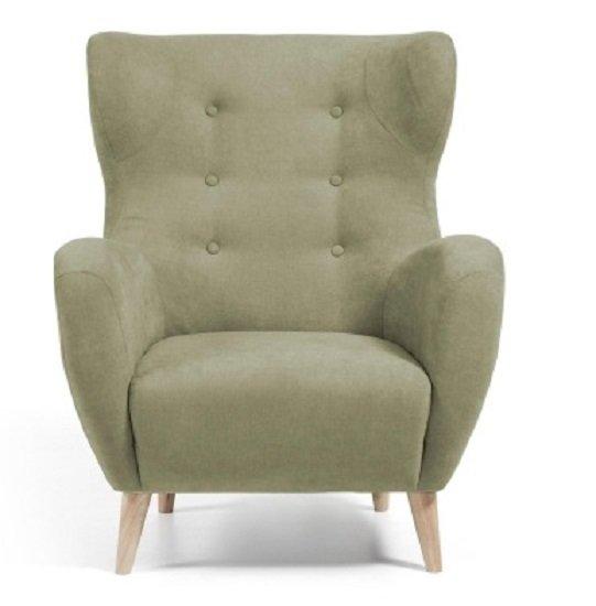 Кресло Julia Grup PASSO зелёное