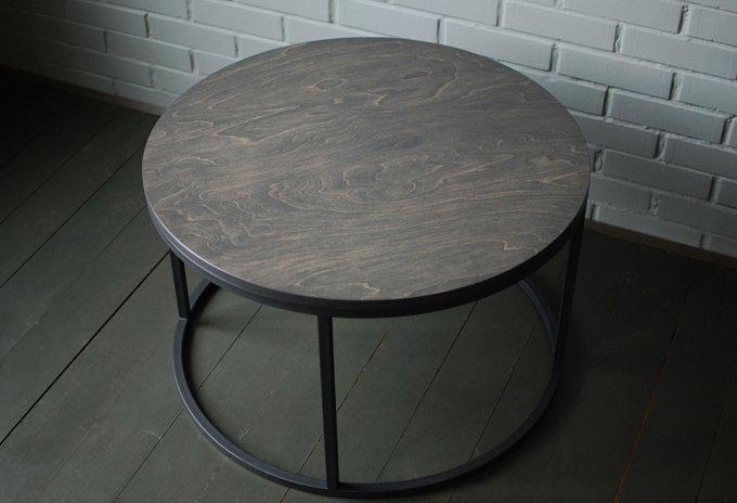 Журнальный стол O Ply из березовой фанеры и металла
