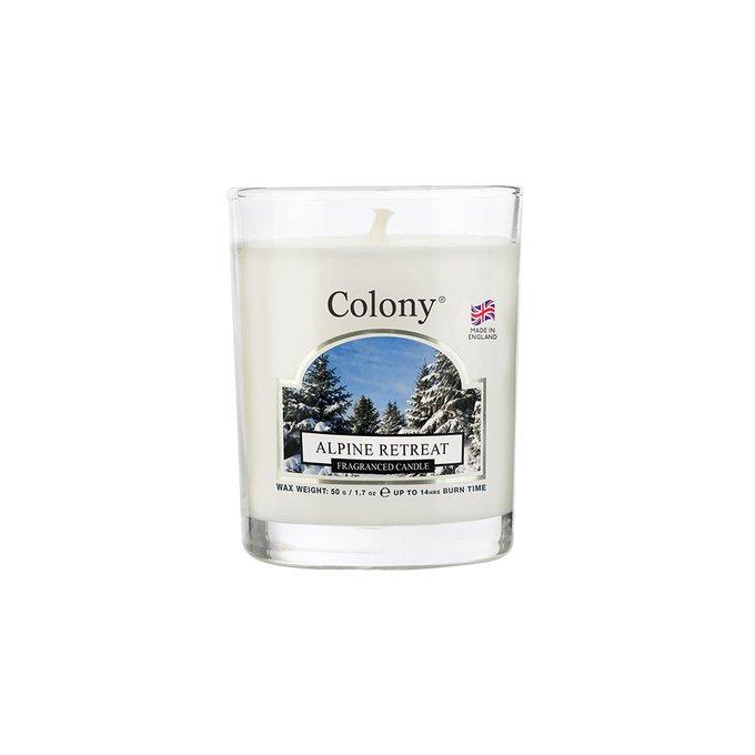 Лампадная ароматическая свеча Альпийский лес
