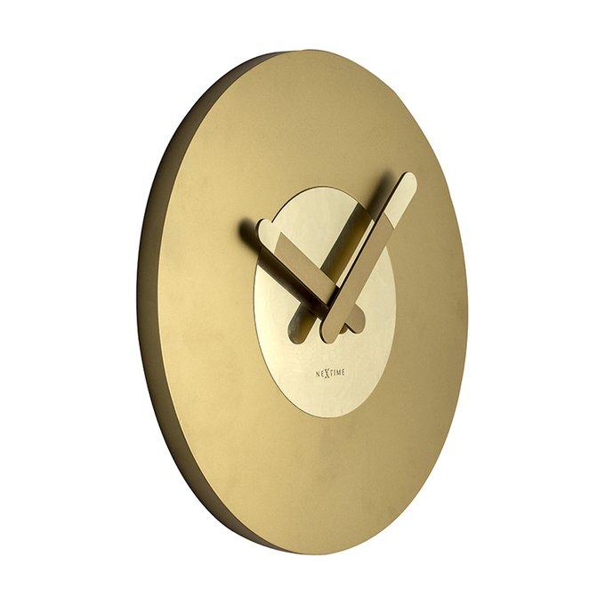 Настенные часы In Touch золотого цвета