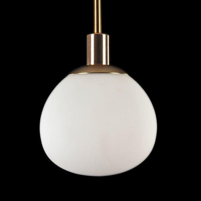 Подвесной светильник Erich из матового стекла