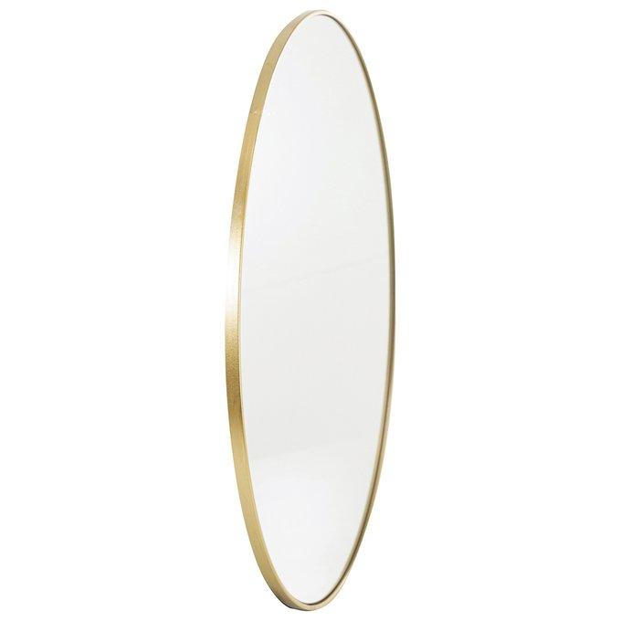 Зеркало настенное Базель золотого цвета