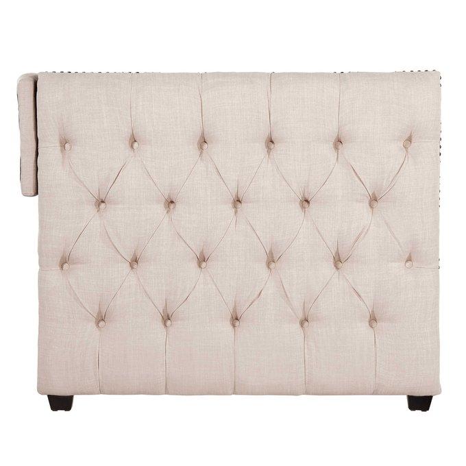 Диван-кровать Taira бежевого цвета 90х200