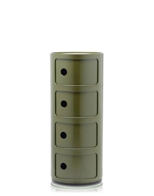 Комод Componibili зеленого цвета