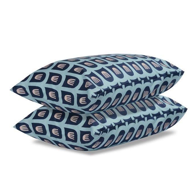Комплект постельного белья Essential из сатина с принтом blossom time 200х210