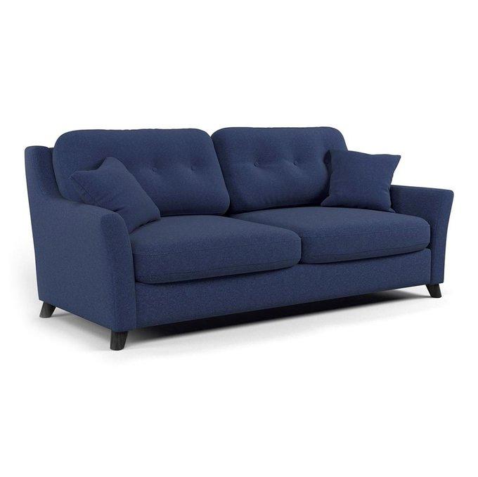 Диван трехместный Raf MT синего цвета