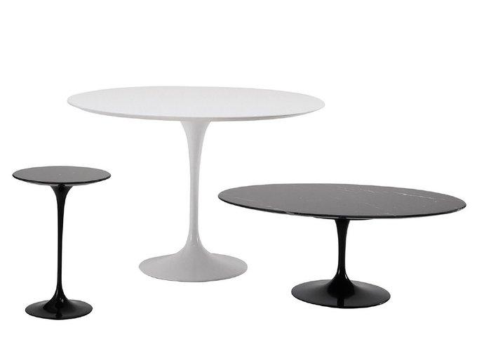 Кофейный стол Apriori T с основанием из искусственного камня