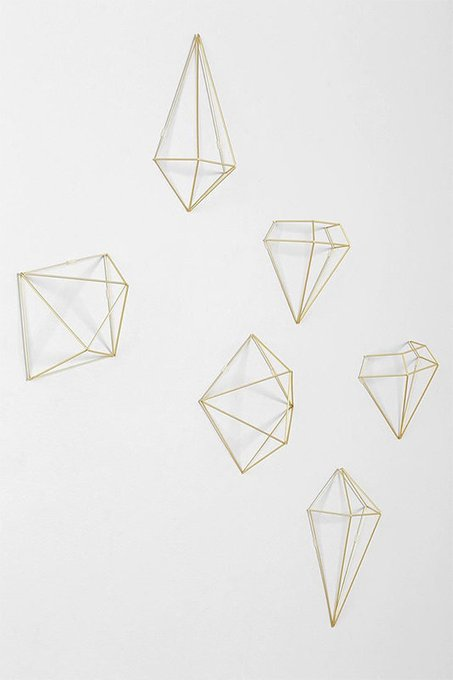Декор для стен prisma из металла