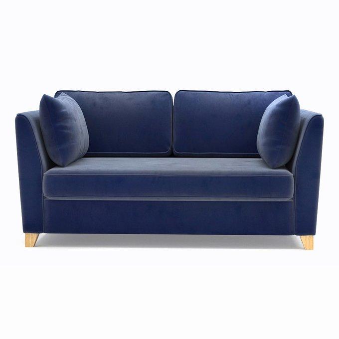 Двухместный диван ST Wolsly синего цвета