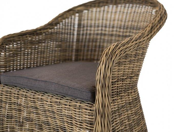 Кресло Равенна соломенного цвета