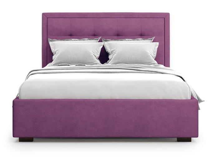 Кровать Komo 180х200 пурпурного цвета с подъемным механизмом