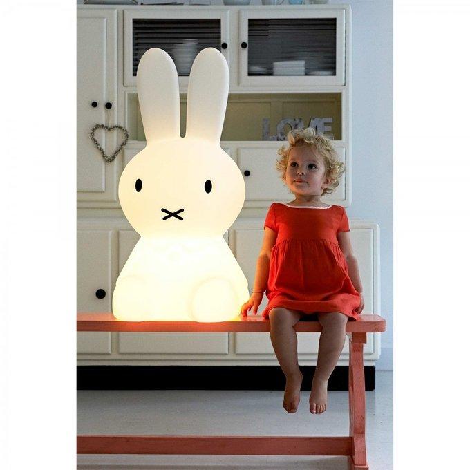 Детская настольная лампа Зайчик Miffy на облачке