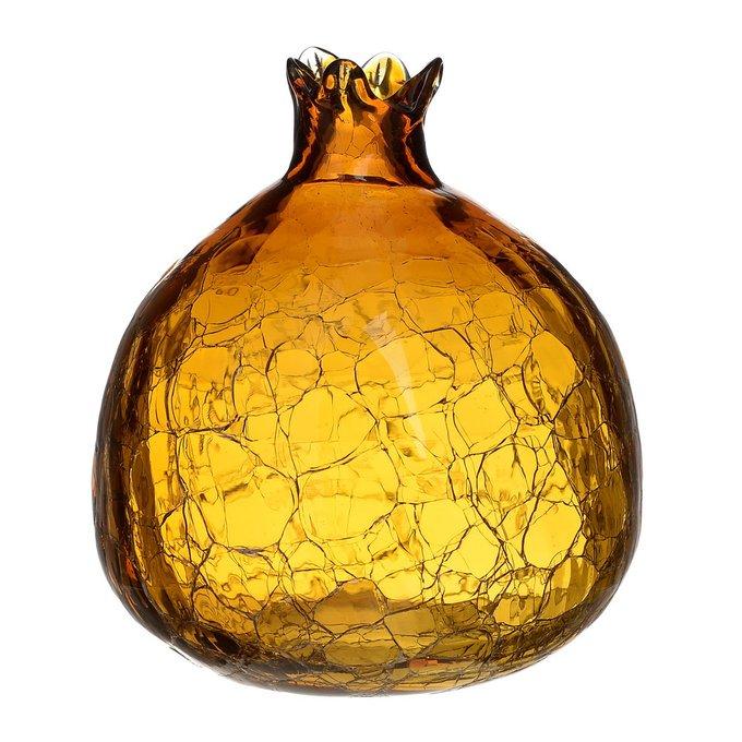 Статуэтка Гранат золотого цвета