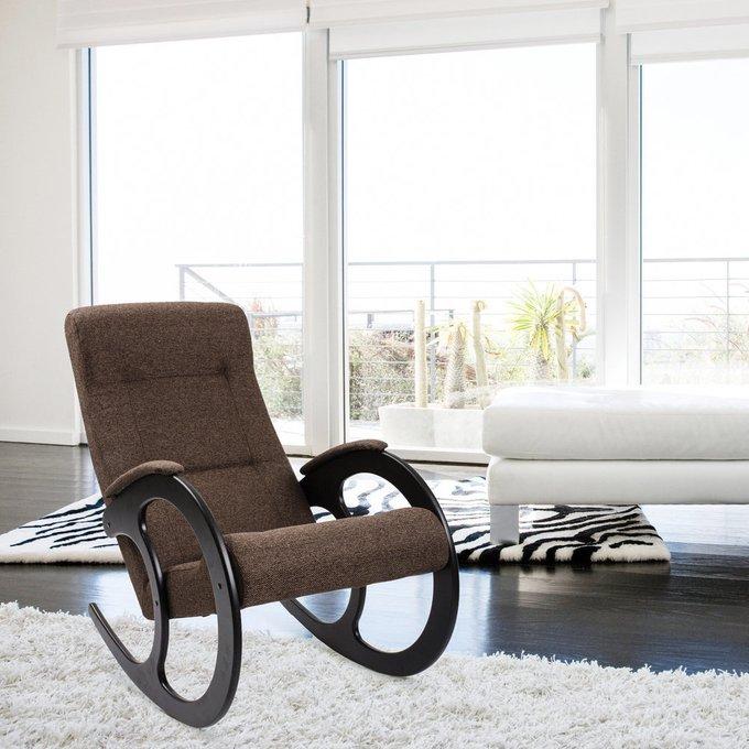 Кресло-качалка Комфорт модель 3 венге/ Malta 03