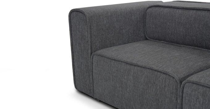 Модульный диван Метрополис L gray