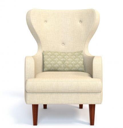 Кресло с высокой спинкой Морис