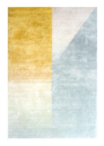 Ковер Ko желто-голубой 250x300