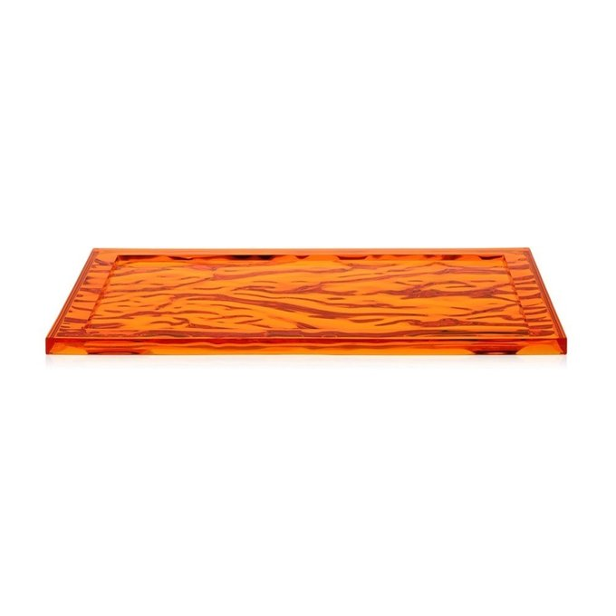 Поднос Dune оранжевого цвета