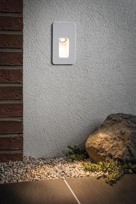 Уличный светодиодный светильник Slot Led белого цвета