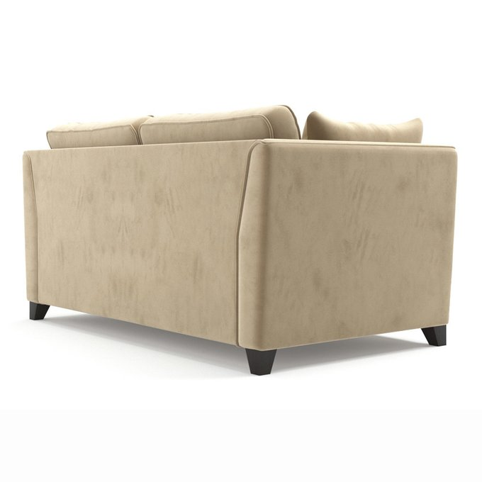 Двухместный диван Wolsly ST бежевого цвета