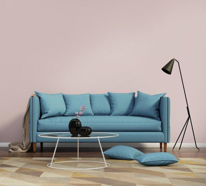 Раскладной диван Marta голубого цвета