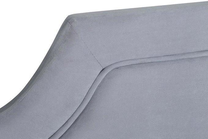 Кровать светло-серого цвета с подъемным механизмом 160х200