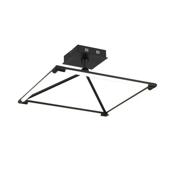 Потолочный светодиодный светильник Imogine черного цвета
