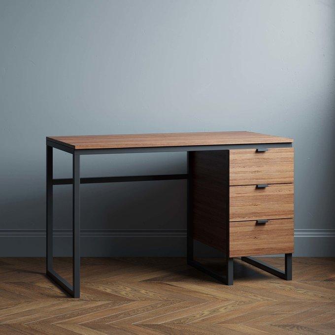Письменный стол Joseph new 120х60 цвета натуральный дуб