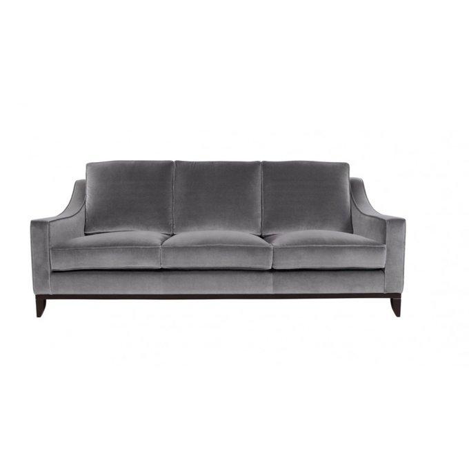 Диван-кровать Франциско S серого цвета