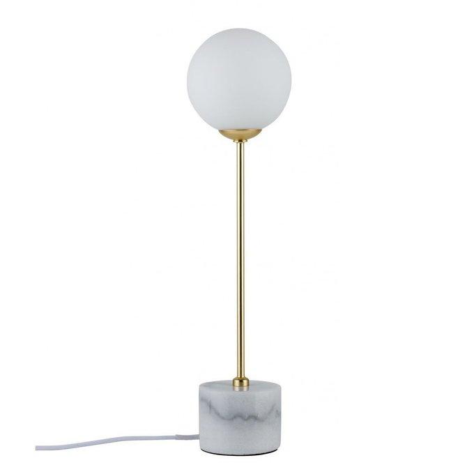 Настольная лампа Paulmann Asta с плафоном из стекла