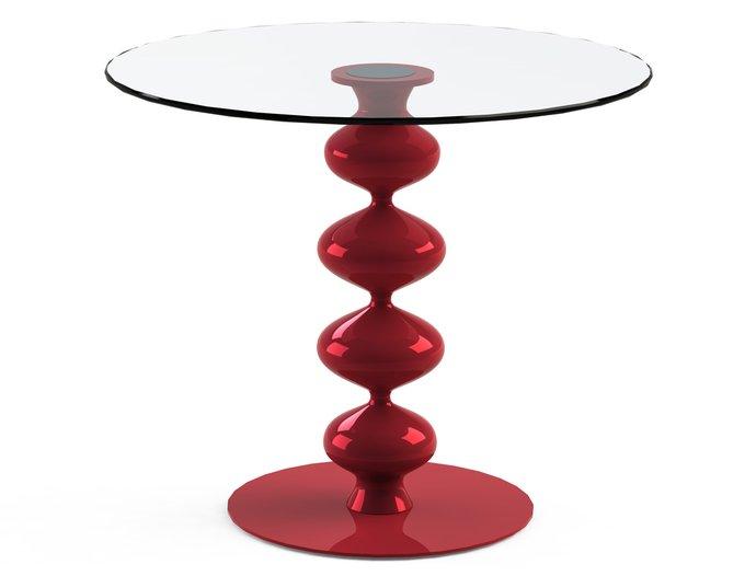 """Обеденный стол """"CRIADOR Red"""" со столешницей из закаленного стекла"""