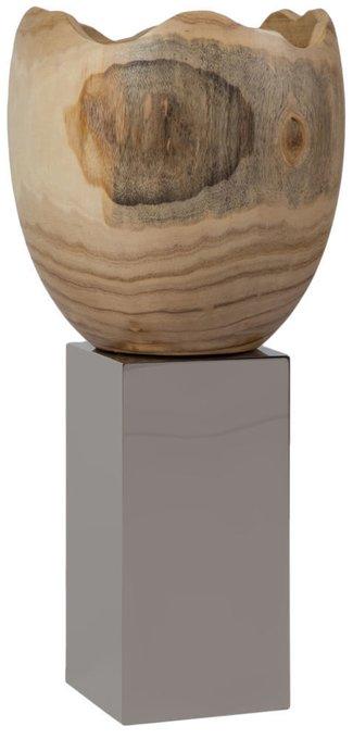 """Ваза напольная """"Rupture - Stainless Steel Pillar"""""""