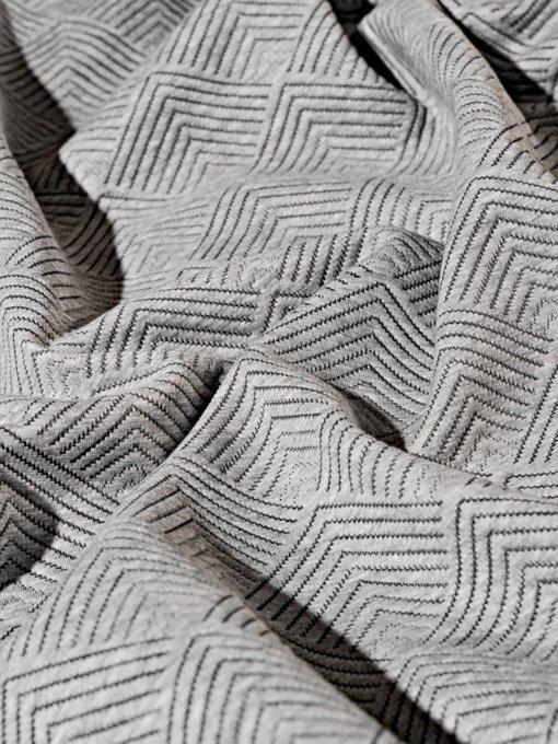 Набор из двух наволочек Adriana grey серого цвета