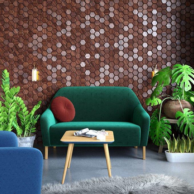 Трехместный диван Miami lux серого цвета
