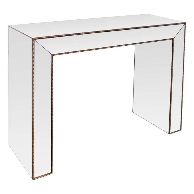 Консоль Gold с зеркальной поверхностью