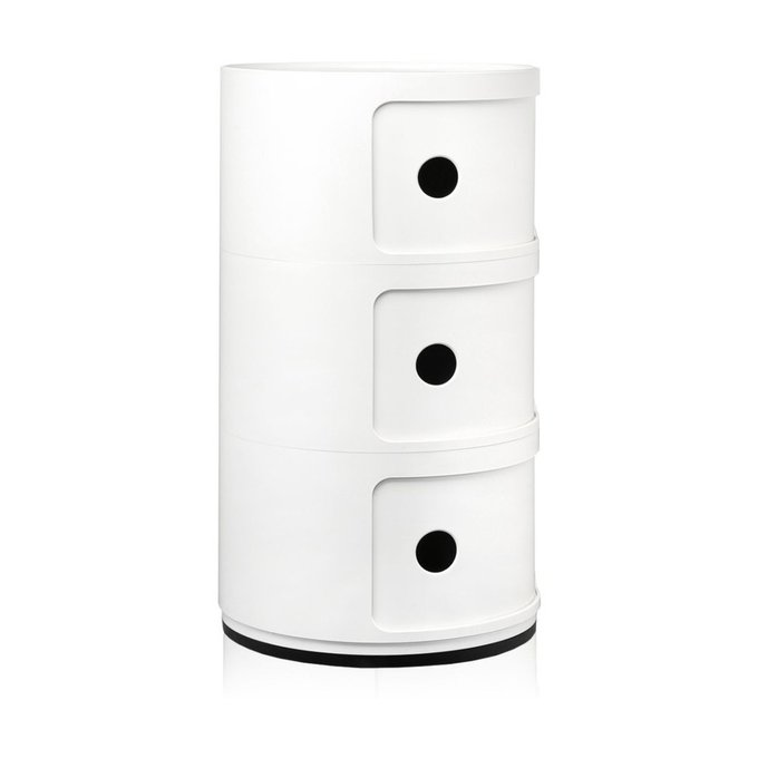 Тумба Componibili белого цвета