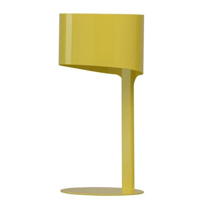 Настольная лампа Идея желтого цвета