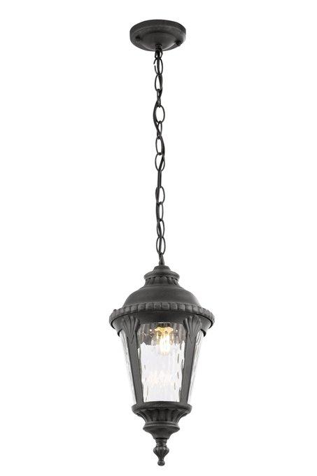 Подвесной уличный светильник Goiri из металла и стекла