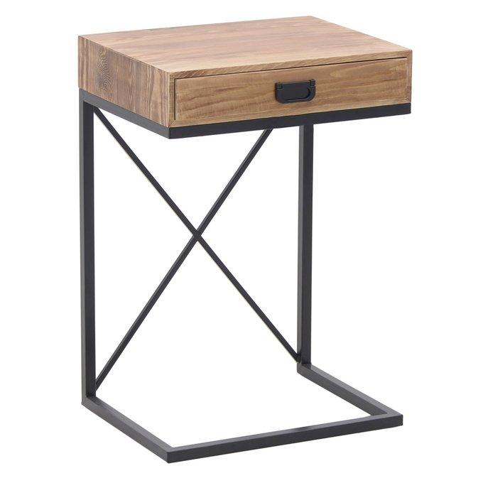Кофейный стол с выдвижным ящиком