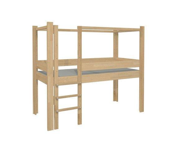 """Кровать De Breuyn """"Debe.destyle"""" пять в одном из массива бука 90х200"""