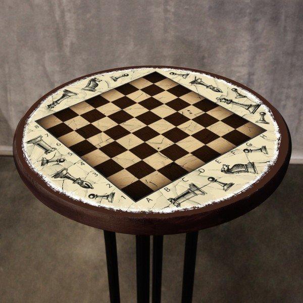 Стол Шахматы из массива сосны