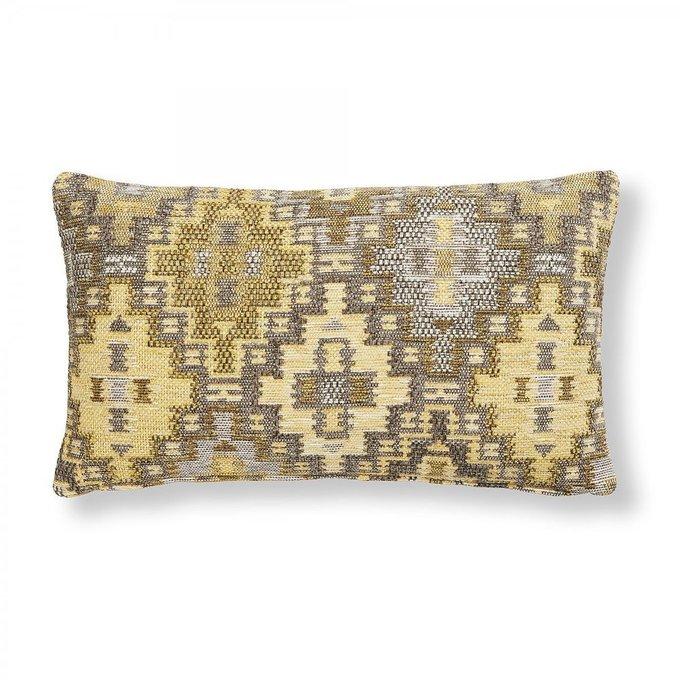 Чехол для подушки Cuzco горчичного цвета 30x50