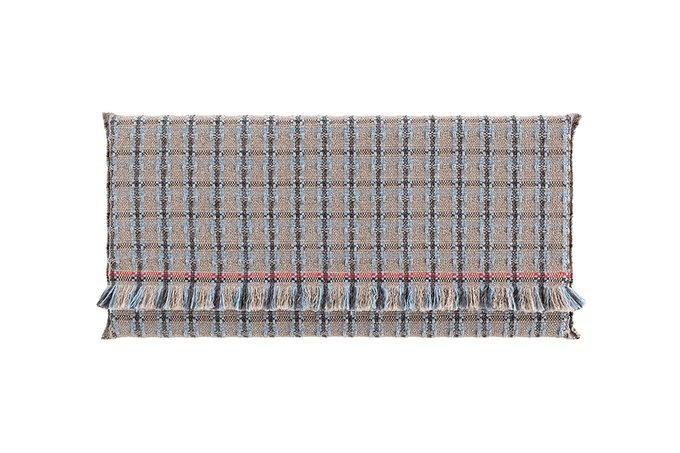 Односпальный матрац Checks blue 80х160