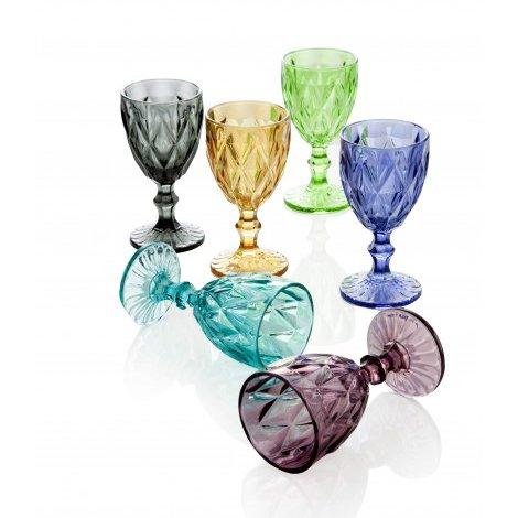 Комплект из шести винных фужеров Маркиз