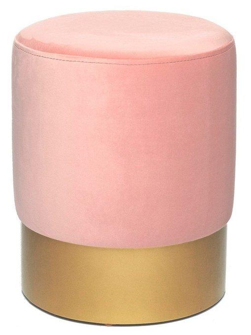 Пуф Domane розового цвета