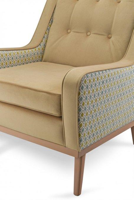 Кресло Mark Golden с каркасом и ножками из дуба