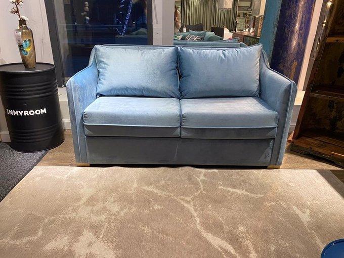 Двухместный диван-кровать Arthur S голубого цвета